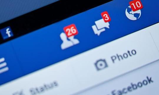 icones de notificacoes do facebook no desktop